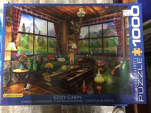 Cozy Cabin - 1000 Piece Puzzle