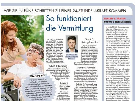 Münchner Merkur: Vis-à-Vis24 und Claus Fussek