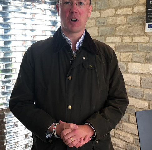 Robert Courts MP visits FarmED