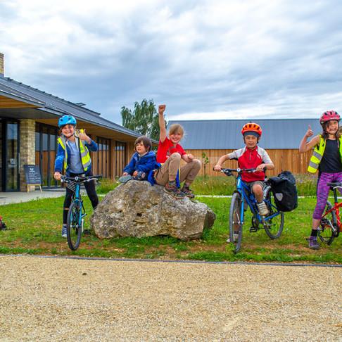 Family Farm Walk and Bike Ride