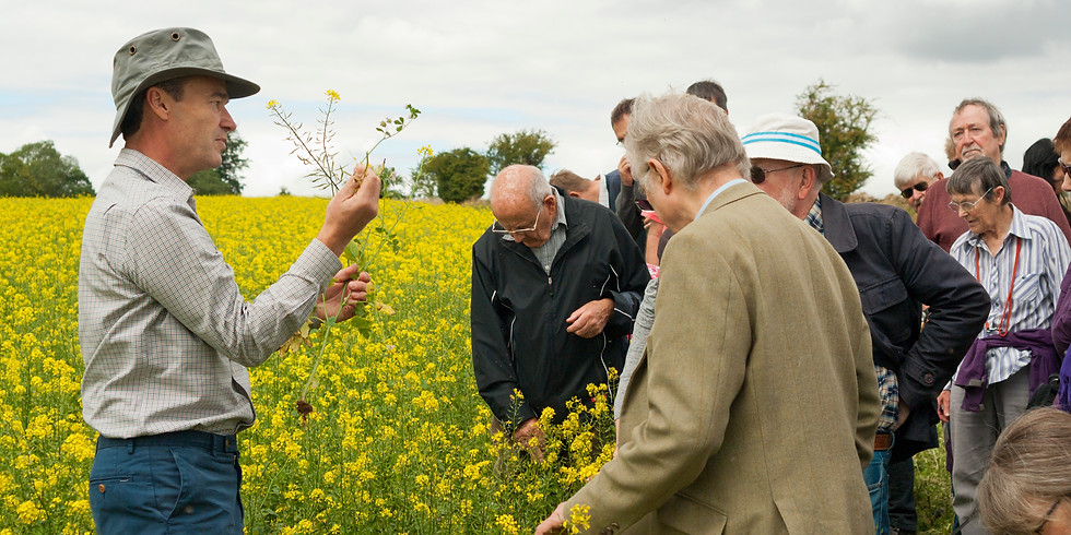Oxford Real Farming Conference in the Field
