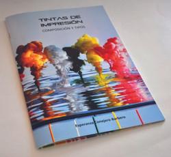 Libro sobre tintas de impresión