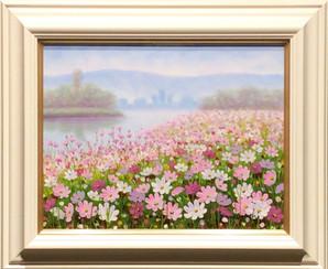 川口里美『コスモスの咲くほとり』¥42,700