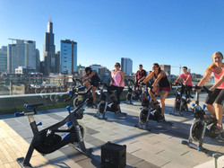 Cycling rooftop
