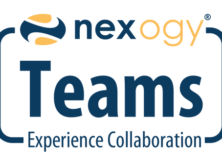 Adding nexogyTeams means collaboration
