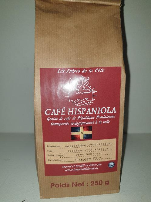 Café Moulu Hispaniola 250 gr