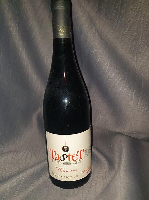Thesaurus de Tastet 75cl vin rouge IGP  Gascogne