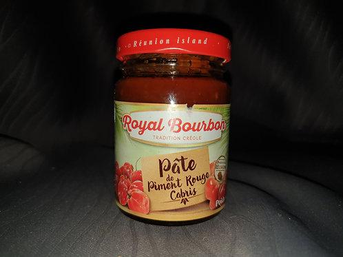 Pate de piment cabris rouge ou vert royale Bourbon 90gr