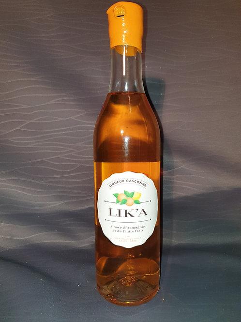 Lik'A ( liqueur d'armagnac  a l orange) 50cl / 30*