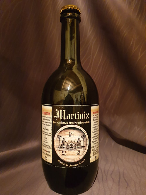 Martinix #16 biere  artisanale triple Blonde 11° /75cl