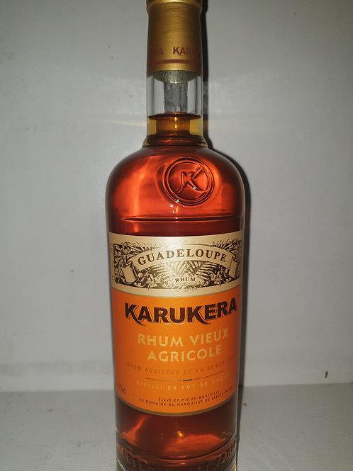 Rhum Karukera Gold 40° 1l