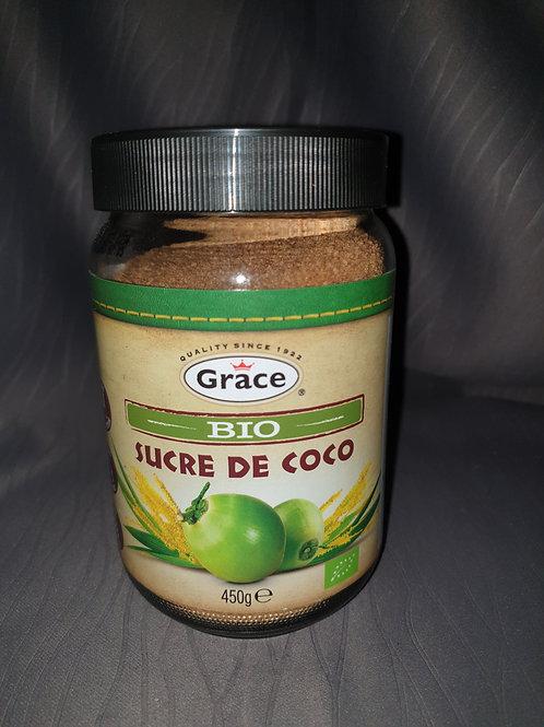 Sucre de coco  bio Grace 450gr
