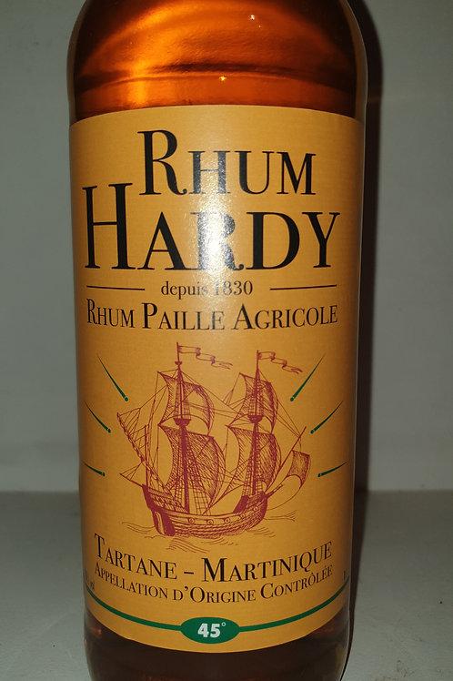 Rhum Hardy Paille 45° 1L