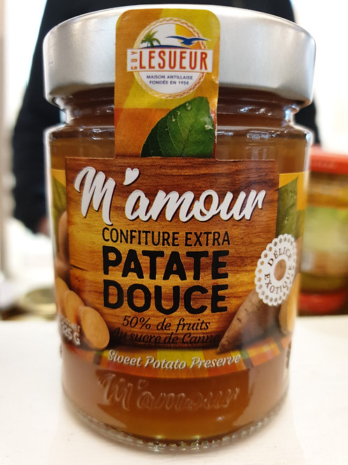 Confiture mamour patate douce  extra 315gr
