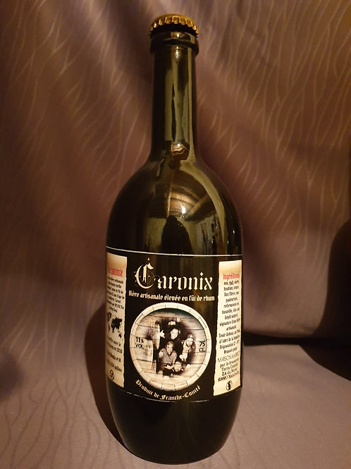 Caronix # 18 biere  artisanale triple Blonde 11°/75cl