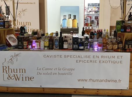 Rhum and wine est de retour dans la Galerie marchande de l hyper u Villefranche de Lauragais !