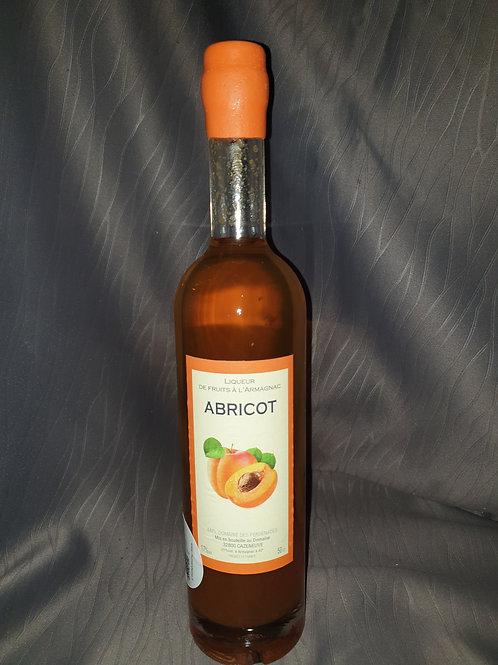 """Liqueur d'armagnac aux  fruits """" Abricots """""""