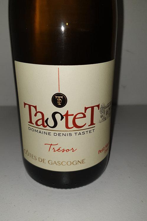 Trésor de  tastet  75cl Petit manseng vin blanc doux IGP Gascogne