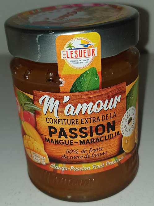 Confitures extra Mamour 325gr passion