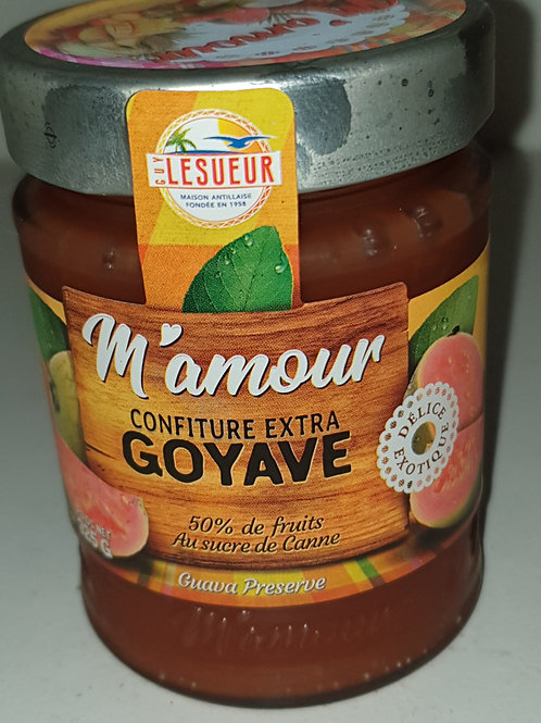 Confitures extra Mamour 325gr Goyave
