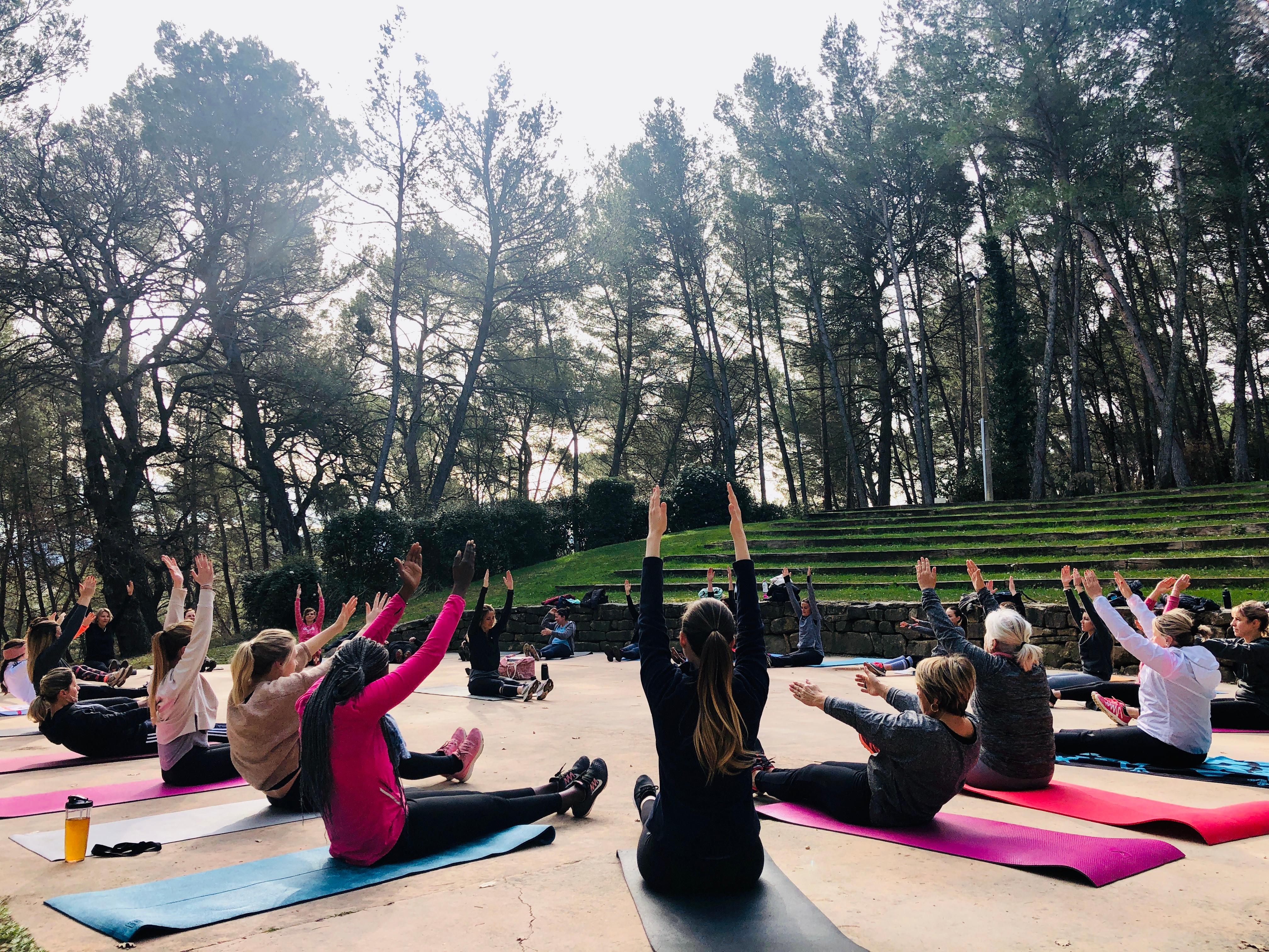 Cours collectifs Pilates Niveau 1
