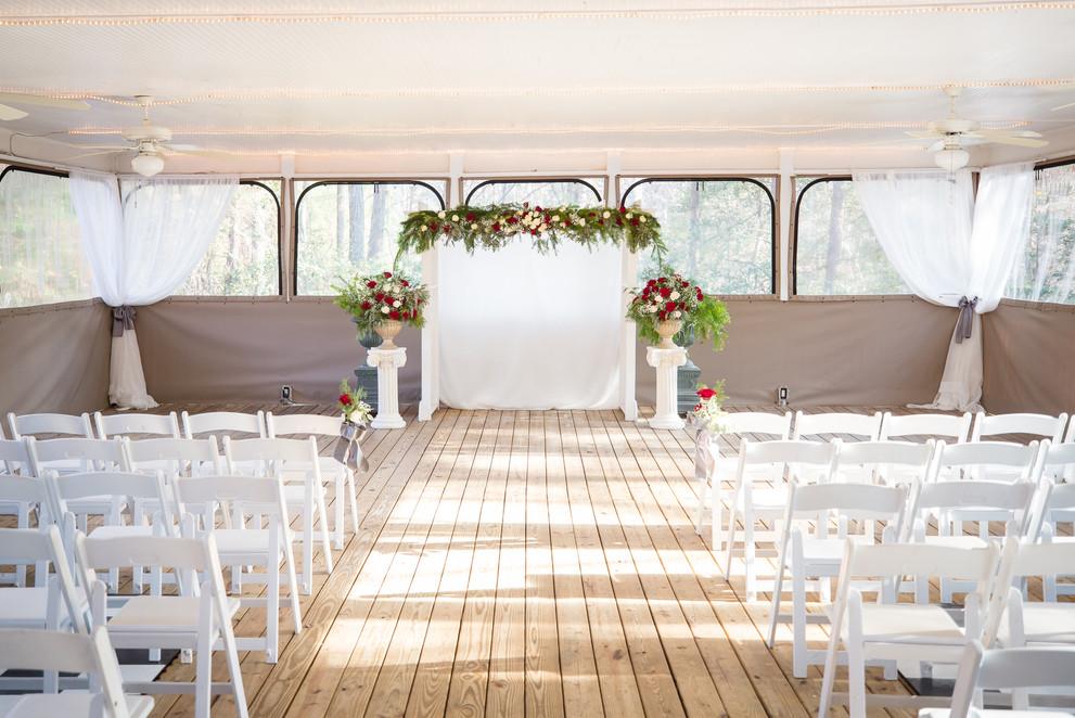 Winter Pavillion Wedding