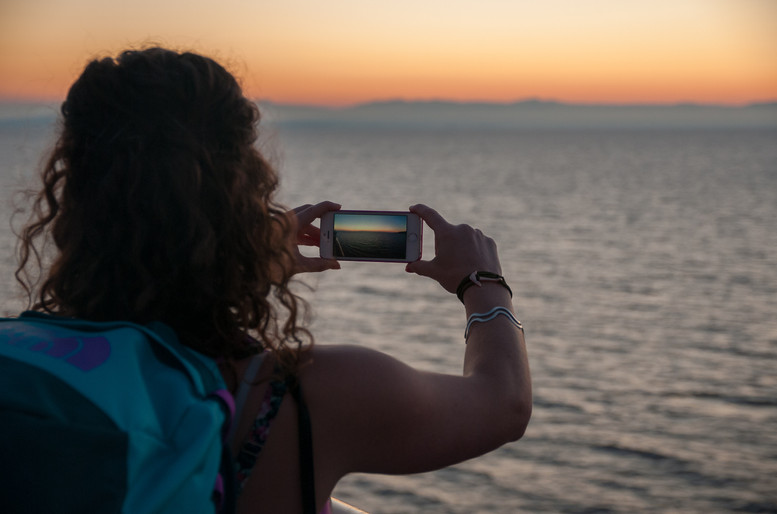 Dawn In The Mediterrean