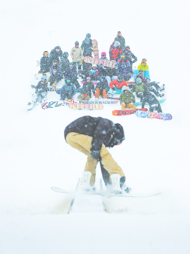 RUDEGIRLS x NITRO SNOWBOARDS