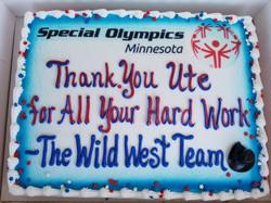 Ute's Appreciation Cake