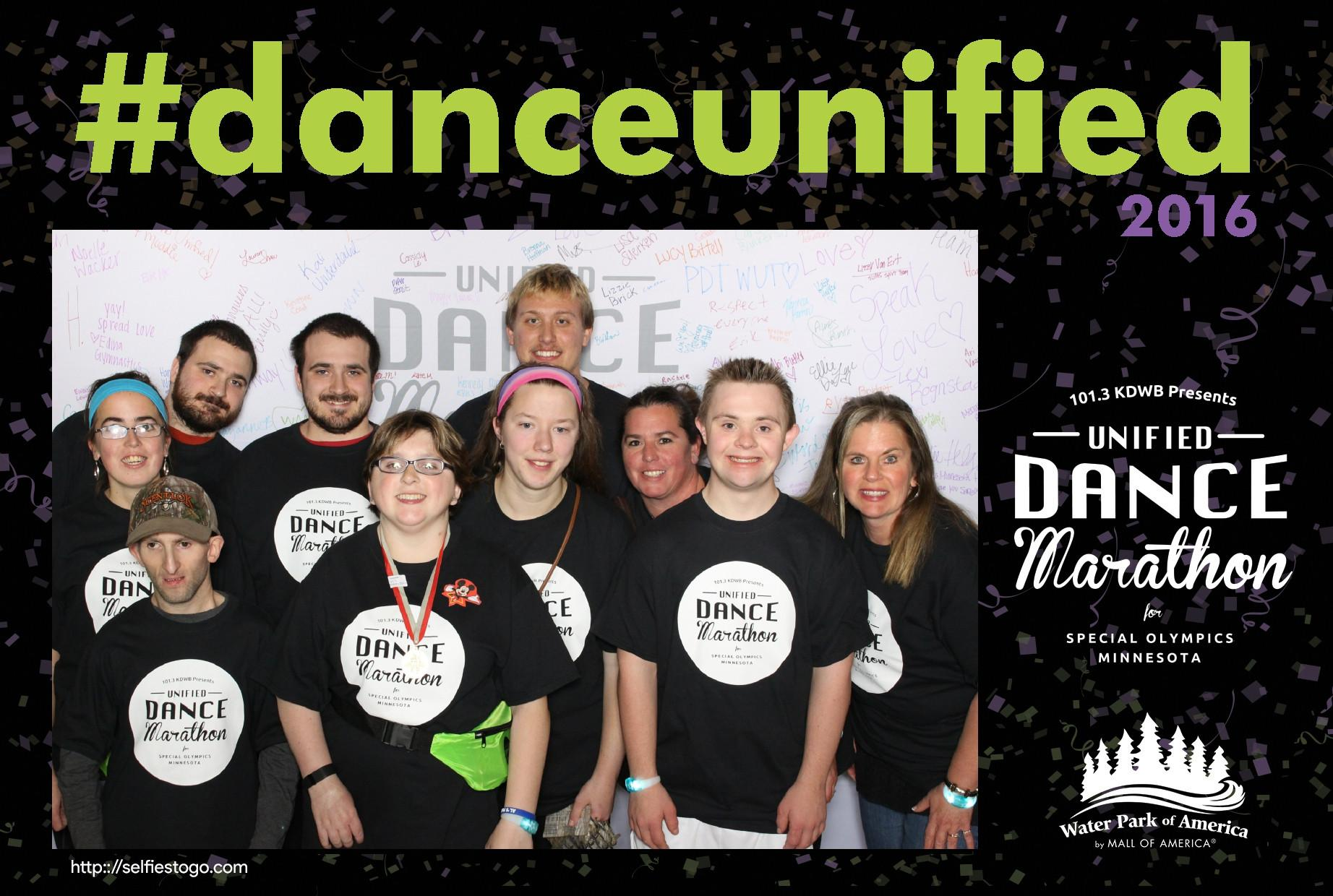 Group pic at Dance Marathon