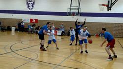 Area Basketball Half Court