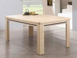 Table avec 2 allonges escamotables