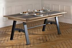 Table rectangulaire Pied Métal