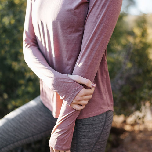 Mauvelous Long Sleeve