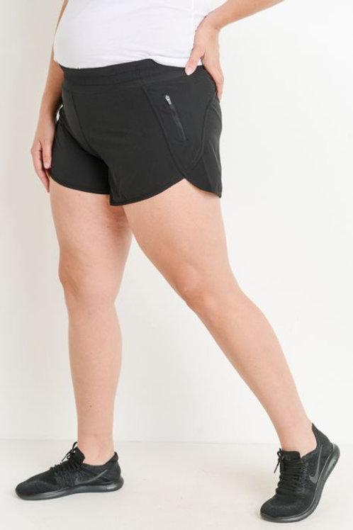 Tulip Shorts with Zipper Pockets