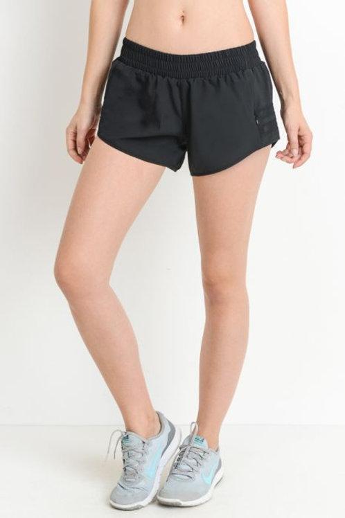 Black Dolphin Shorts