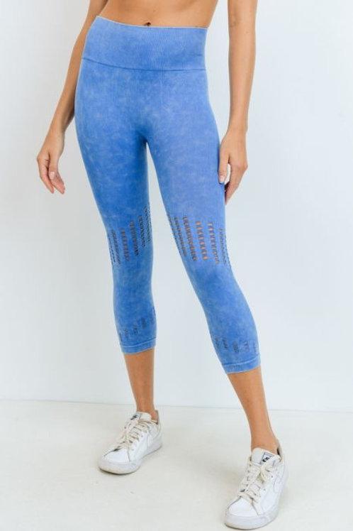 Aqua Seamless Mineral Wash Leggings