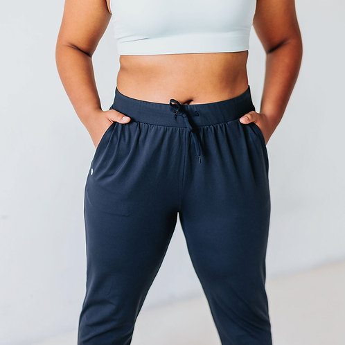 Easy Go Navy Joggers