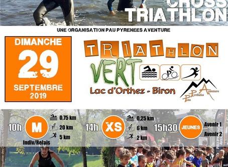 Triathlon Vert 29/09/19