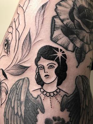 vintage flash tattoo
