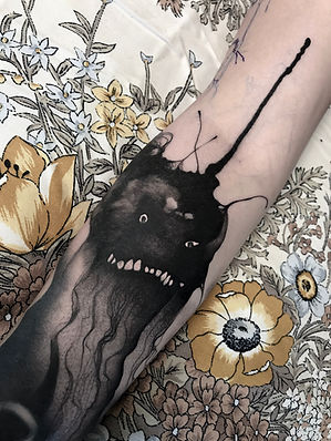 scary stories to tell in the dark tattoo