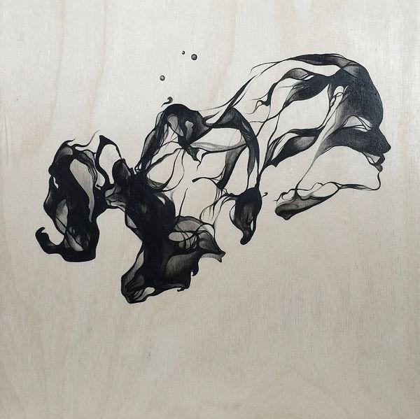 smoke watercolor
