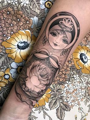matrioshka tattoo