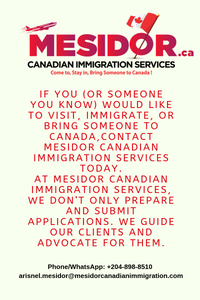 Mesidor Canadian Immigration News & Updates #169