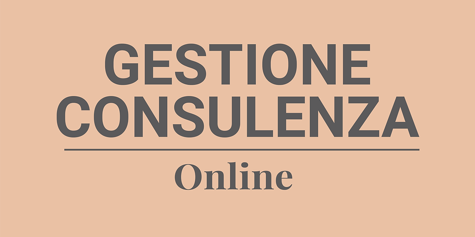 Gestione Consulenza Online