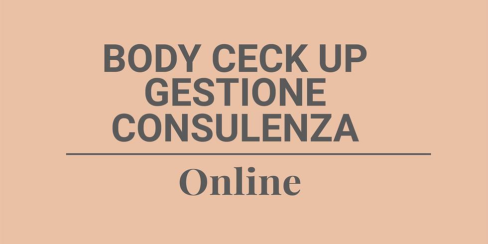 Body check up e consulenza online corpo