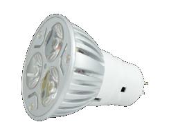 Lámpara LED 3W MR-16 Luz Calida