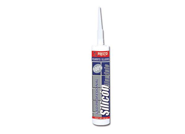 Silicon Aluminio Presto 300 ML 4130