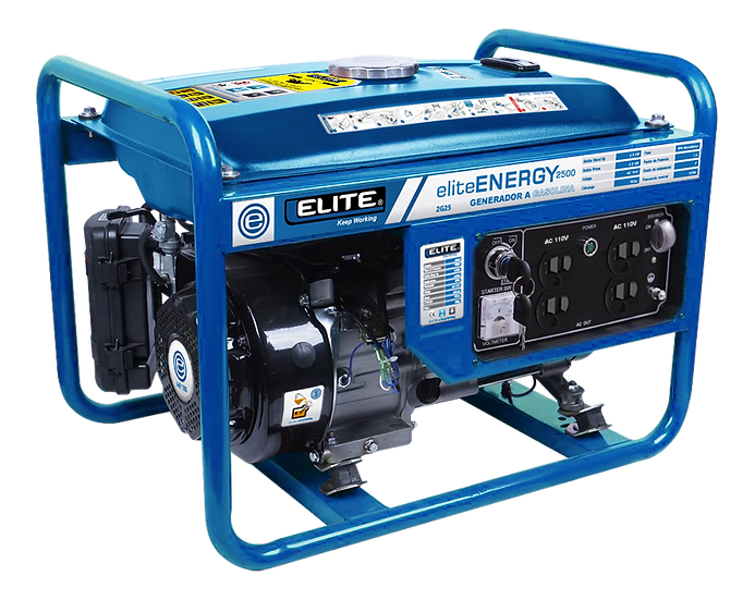Generador Pórtatil 2.5KW 1HP 2G25