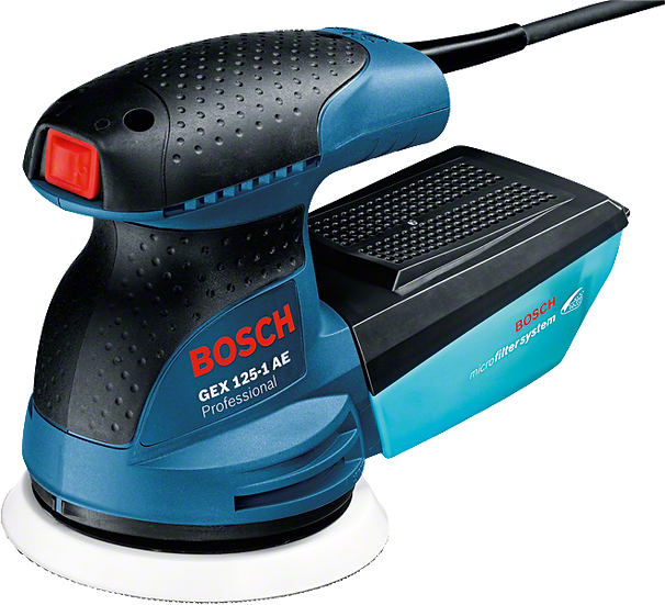 Lijadora Excéntrica GEX 125-1 AE BL Bosch
